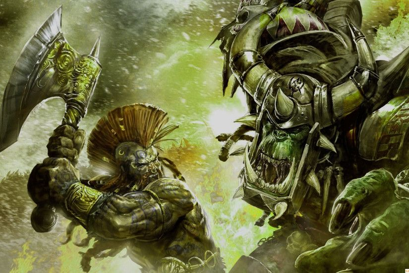Powerful HD Warhammer 40k Wallpaper