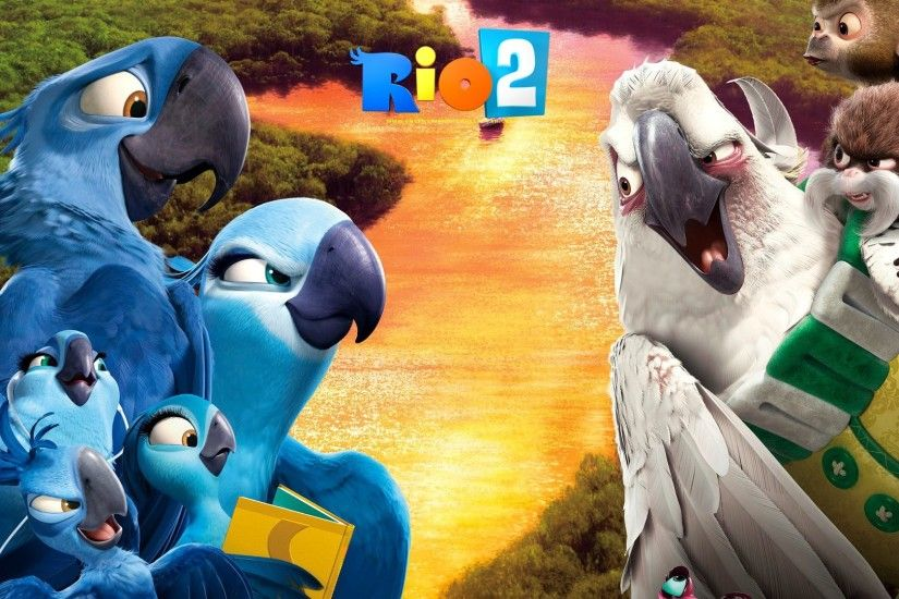 Rio 2 Movie Wallpaper Kids Movies Wallpapers...