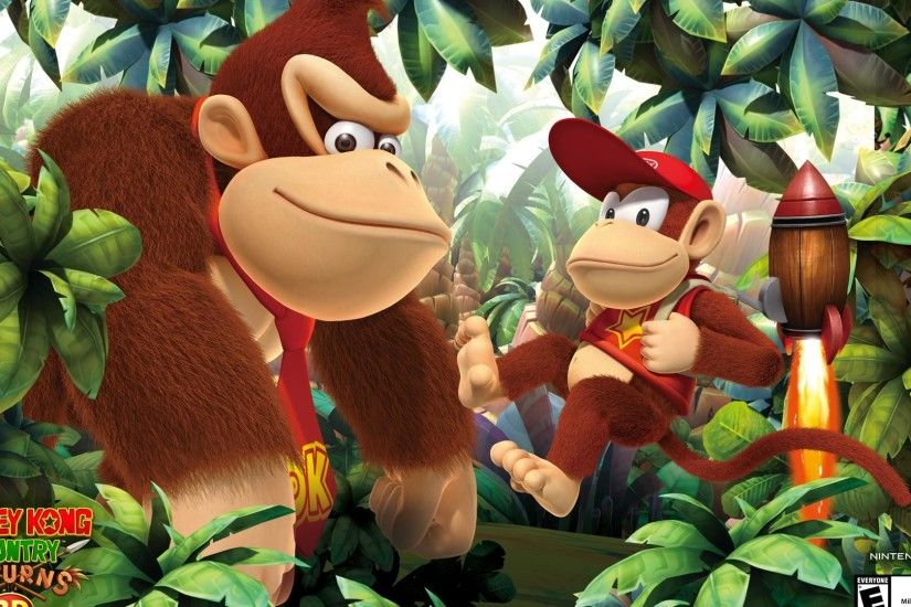 Donkey Kong Country Returns HD Wallpaper 3 - 1920 X 1080. Original ·  1920x1200