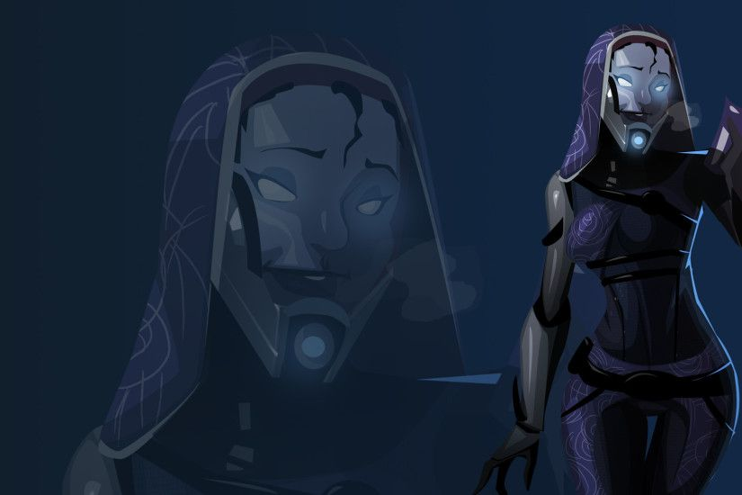 Maskless Tali Wallpaper by morganagod.deviantart.com on @deviantART · Mass  Effect Tali