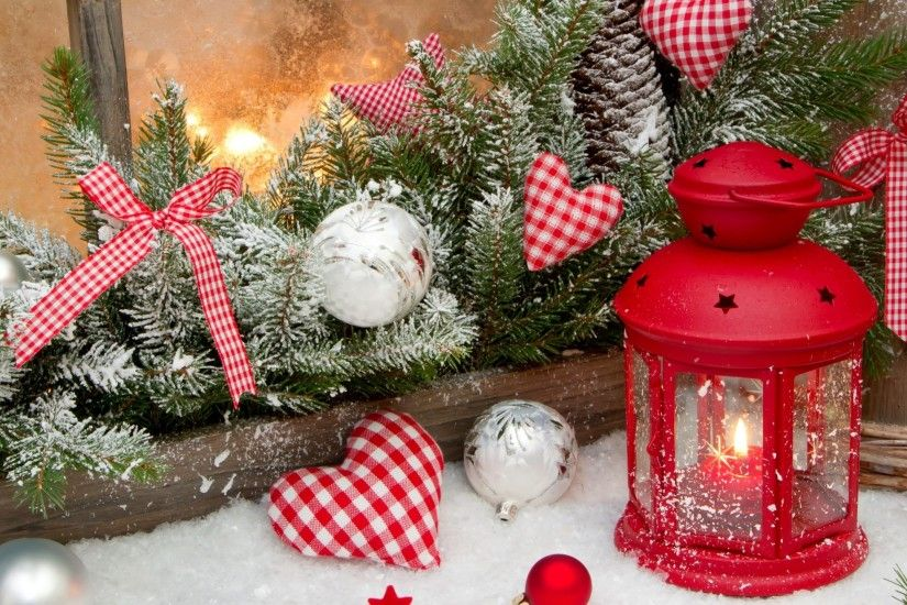 New Year, Christmas, Decorations, Balloons, Stars, Hearts, Decoration,  Candle