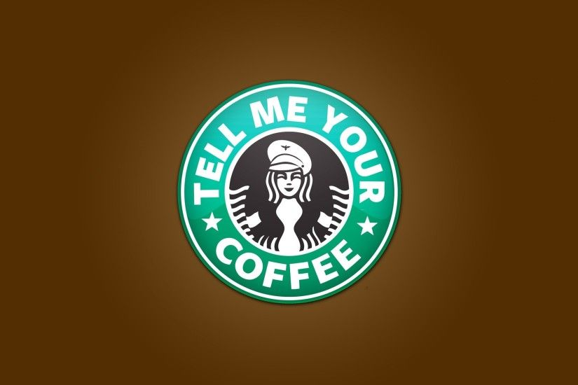 3840x2160 Wallpaper starbucks, coffee, coffee shop, logo
