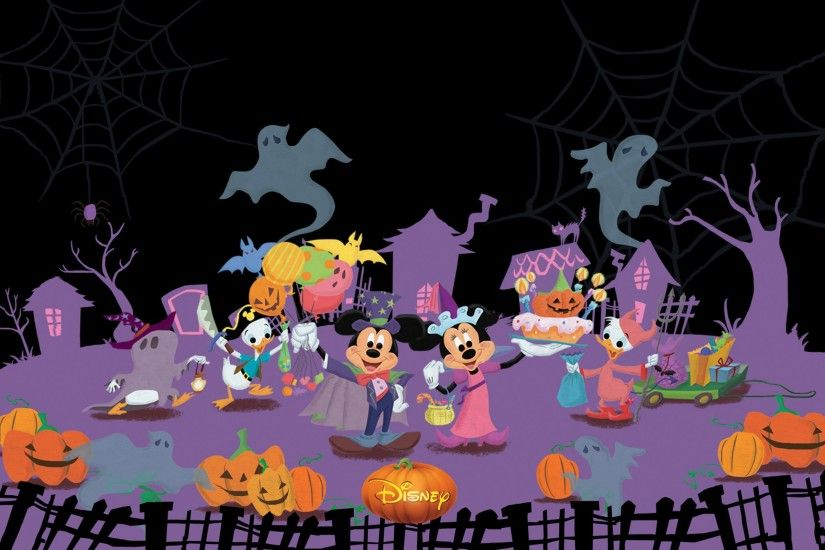 Mickey and Friends Disney Halloween