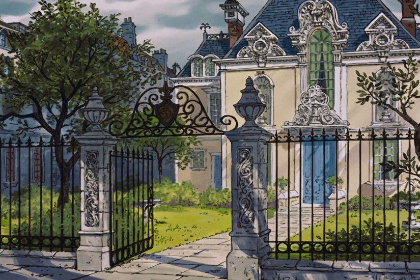 The Aristocats (Maison) | Disney Screen Caps and Background Art | Pinterest  | Aristocats, Concept art and Disney concept art