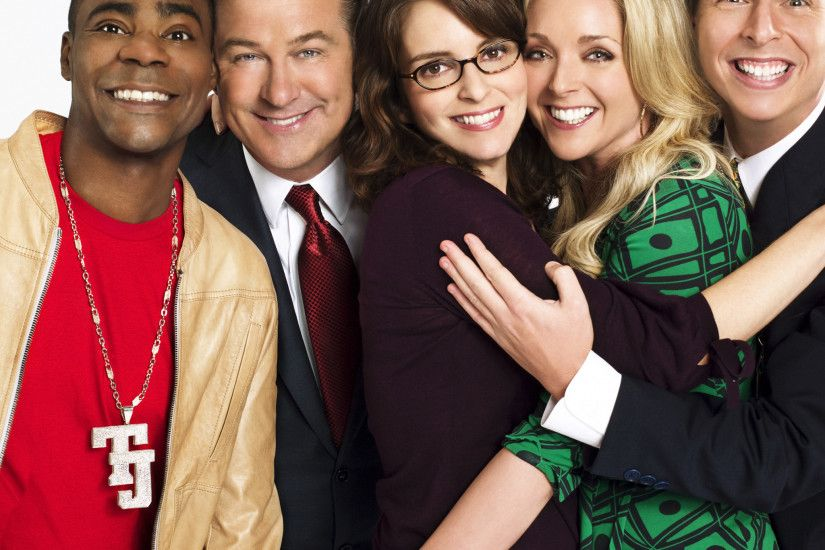 2048x2048 Wallpaper 30 rock, liz lemon, jack donaghy, tracy jordan, jenna  maroney