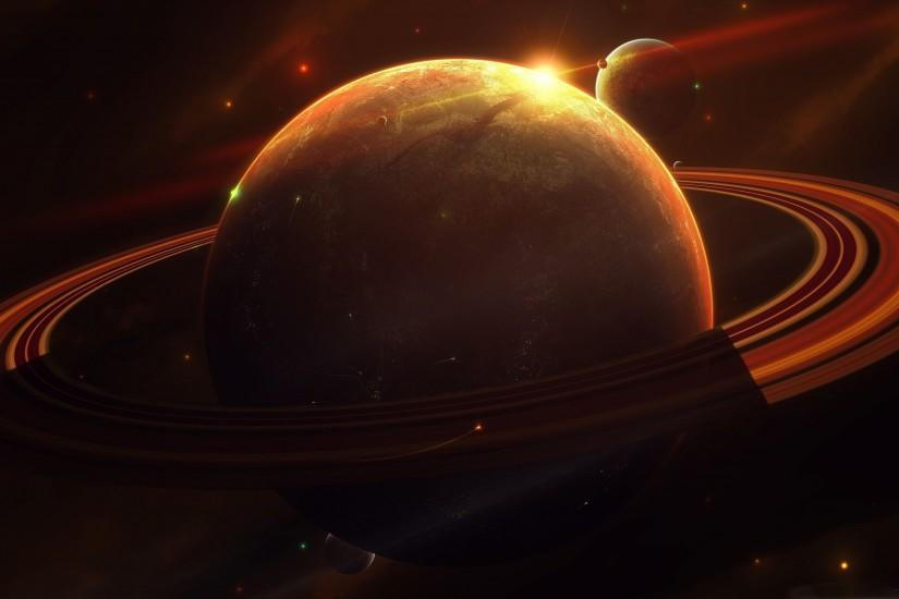 The Saturn Mac wallpaper