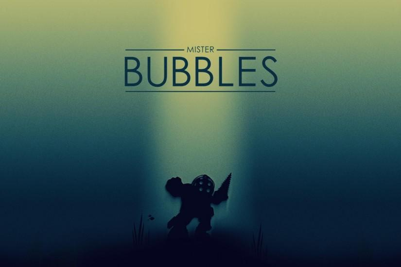 BioShock, Big Daddy, Mr Bubbles Wallpaper HD