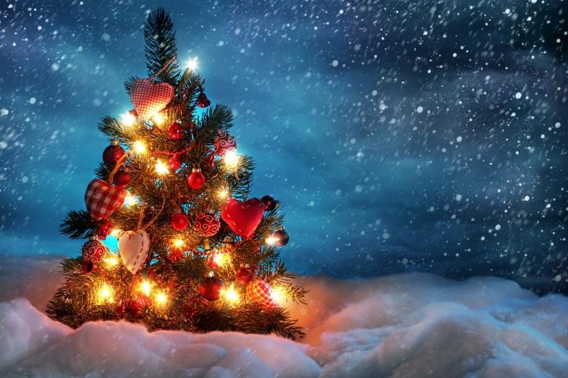 best christmas tree wallpaper 2560x1600
