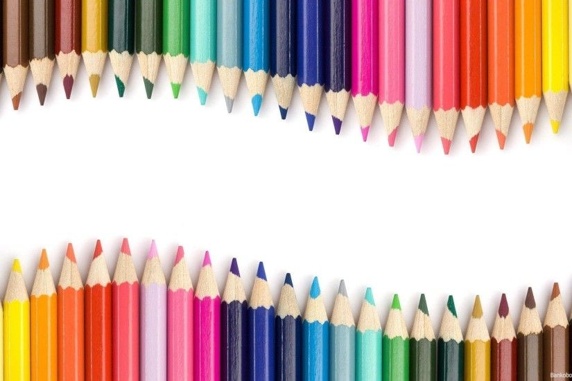 Wallpapers For > Pencil Crayon Wallpaper