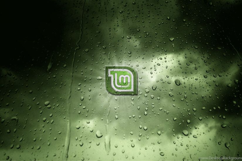 Linux, Linux Mint, GNU, Water Drops HD Wallpapers