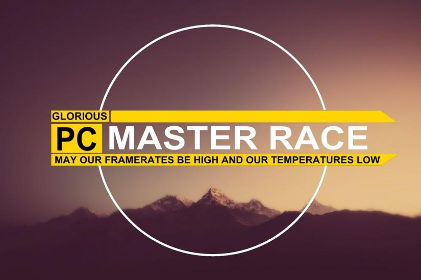 large pc master race wallpaper 1920x1080 download free