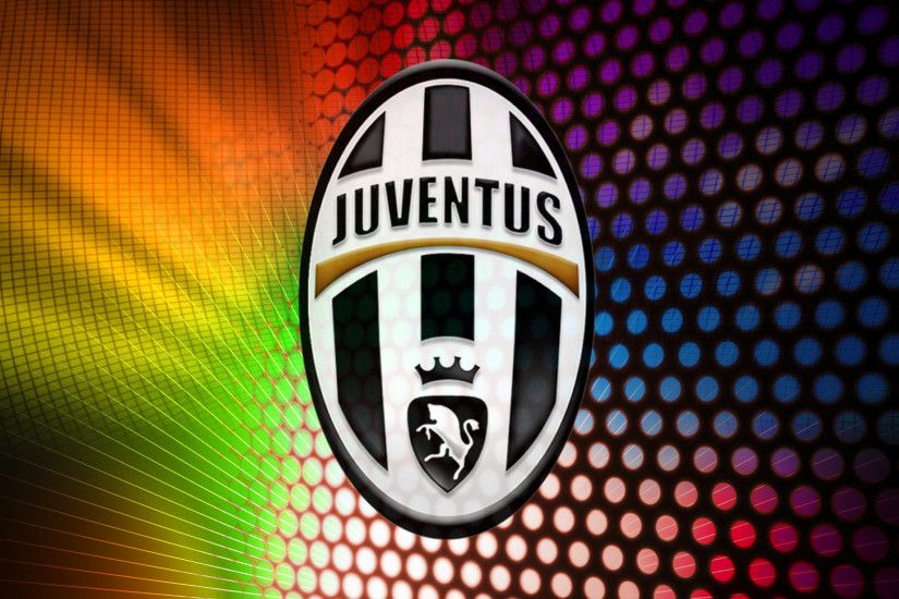 colorful Juventus wallpaper with circles and lines