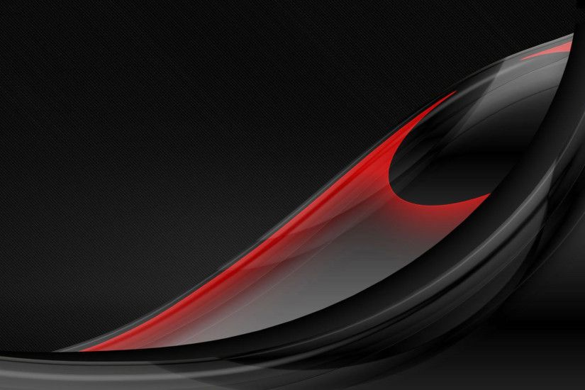 Black-and-red-feather-abstract-wallpapers