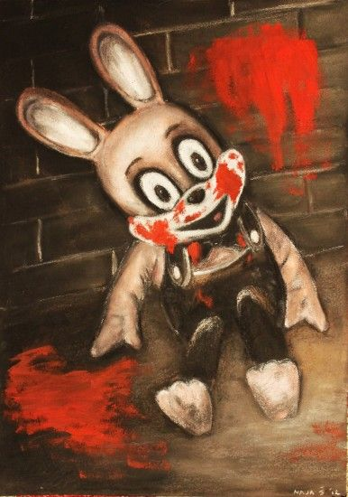 I just love Robbie the Rabbit (Silent Hill)