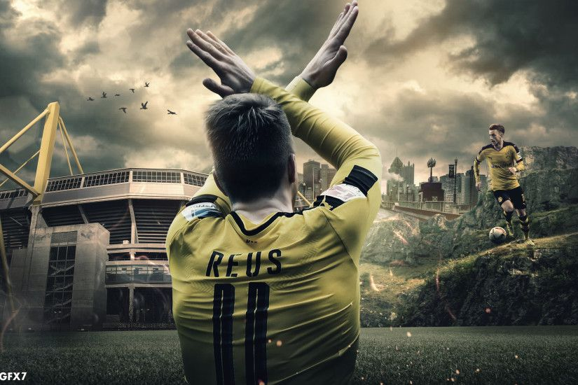 ... Marco Reus Desktop Wallpaper 2016/17 by HassanGFX7