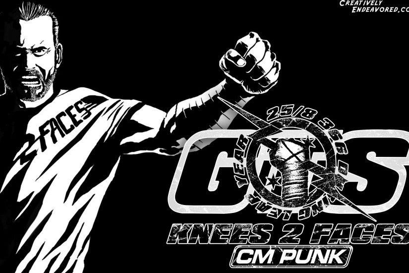 2500x1563 wwe cm punk logo Car Tuning