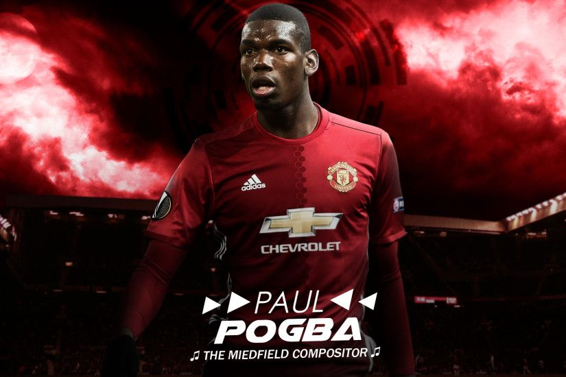 ... Paul Pogba 2016 // Wallpaper V.2 by ArselGFX