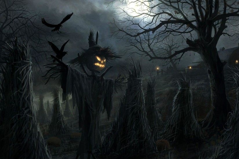 Halloween pumpkin scarecrow | Wallpapers Galaxy