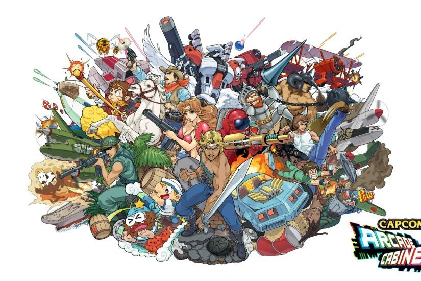 ... Capcom Arcade Cabinet 1920x1080 wallpaper edit by Bonsewswesa