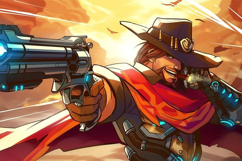 top mccree wallpaper 1920x1080 for computer