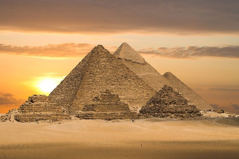 Great Pyramid of Giza Tomb in Giza Egypt Wonders of The World HD Photo