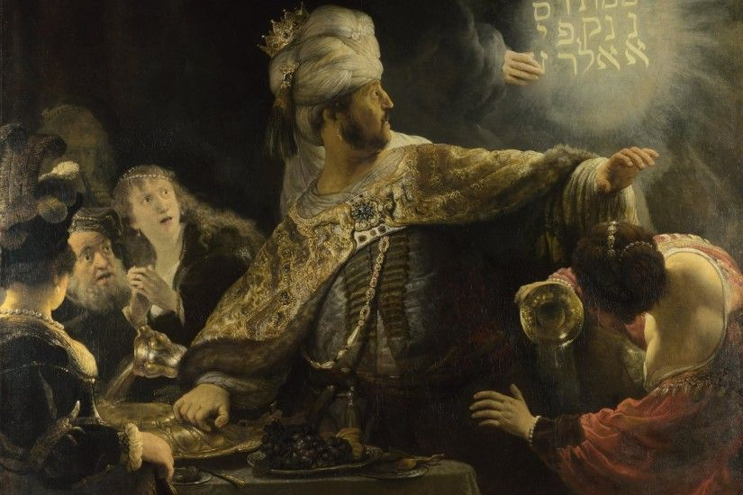 rembrandt city state belsazar babylon 10 mb rembrandt city state gateway god  king crown belshazzar's feast
