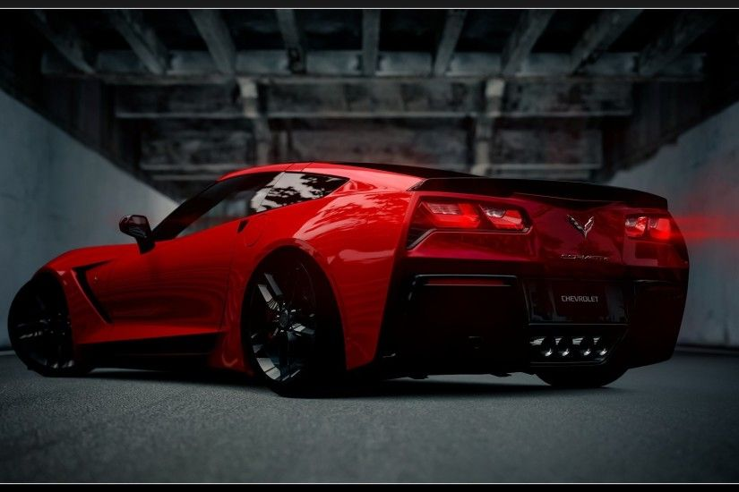 Download Red Corvette Wallpaper Gallery