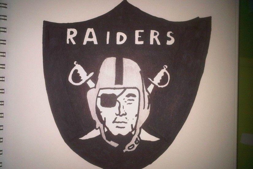 Oakland Raiders Logo Wallpaper 183 ①