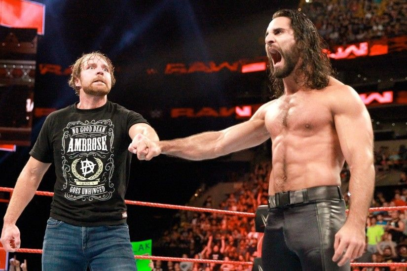 Raw Tag Team Champions Cesaro & Sheamus attacked Dean Ambrose & Seth  Rollins | WWE
