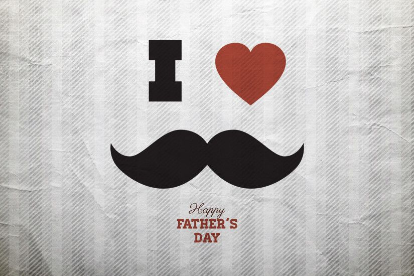 HD I love mustache wallpaper
