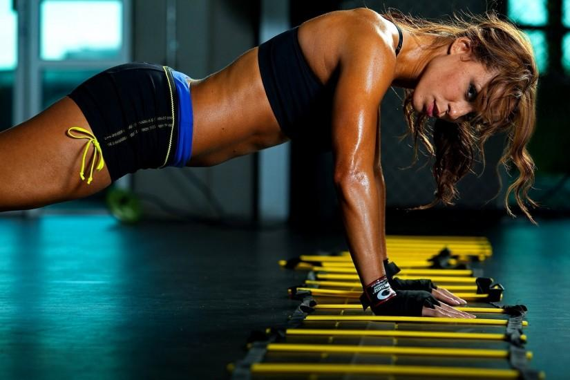 Women HD Fitness Backgrounds.