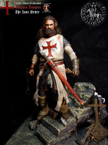 "Assassin's creed: Assassin au Templar images Calvin's Custom 1:6 one sixth  scale Historical Figure: ""Knights Templar The Last Order"" custom figur HD  ..."
