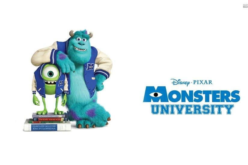 Sulley And Mike Wazowski Monsters University - Movie Wallpapers