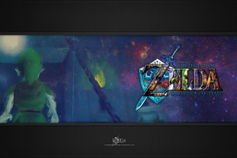 ... SoenkesAdventure Zelda - Ocarina of Time Wallpaper Full HD 1080p by  SoenkesAdventure