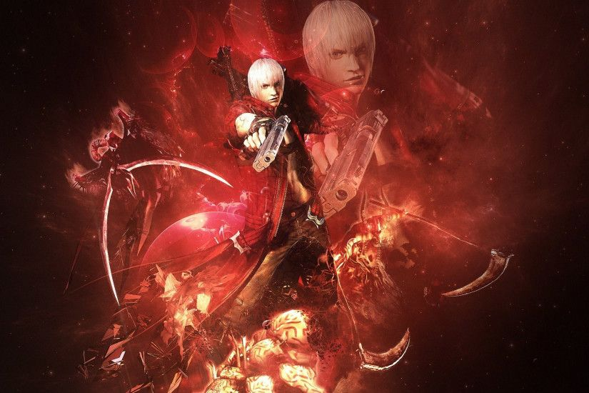 1920x1200 Devil May Cry Red