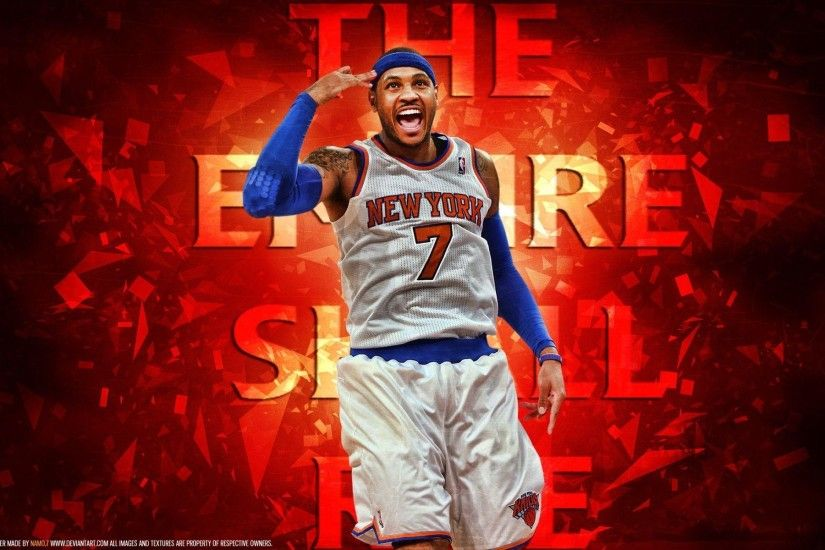 Carmelo Anthony iPhone Wallpaper NBA - iPhoneWallpaper.me