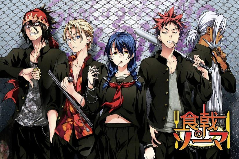free download shokugeki no soma wallpaper 1920x1350