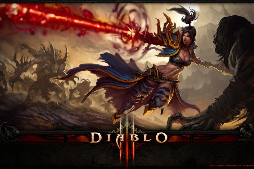 DIablo 3 2 wallpaper from Diablo 3 wallpapers