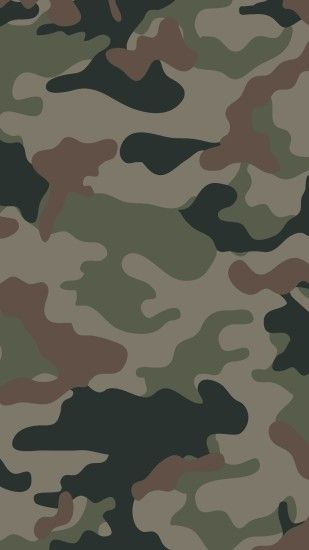 1080x1920 Camouflage wallpaper for iPhone or Android. Tags: camo, hunting,  army,