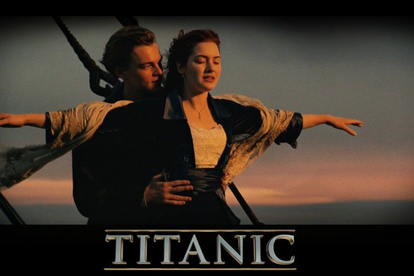 Preview wallpaper titanic, love, famous pose, lovers, romance 1920x1080