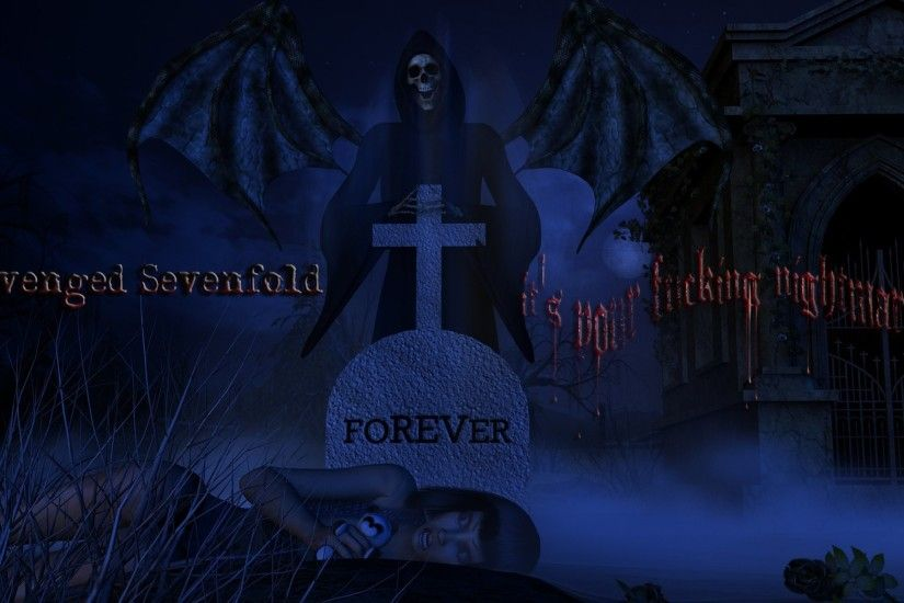 Avenged Sevenfold Nightmare Wallpapers For Iphone