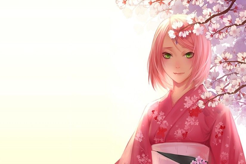 Anime girl Sakura Haruno wallpapers and images .