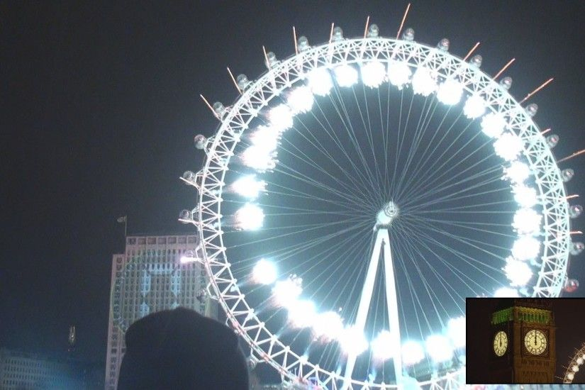 London Eye New Years Eve Wallpapers 2