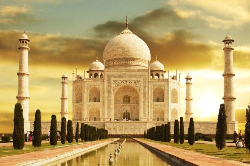 1920x1080 Taj Mahal India desktop PC and Mac wallpaper