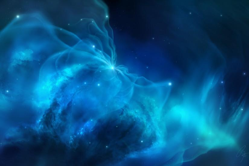 Displaying 15> Images For - Blue Nebula Wallpaper Hd..