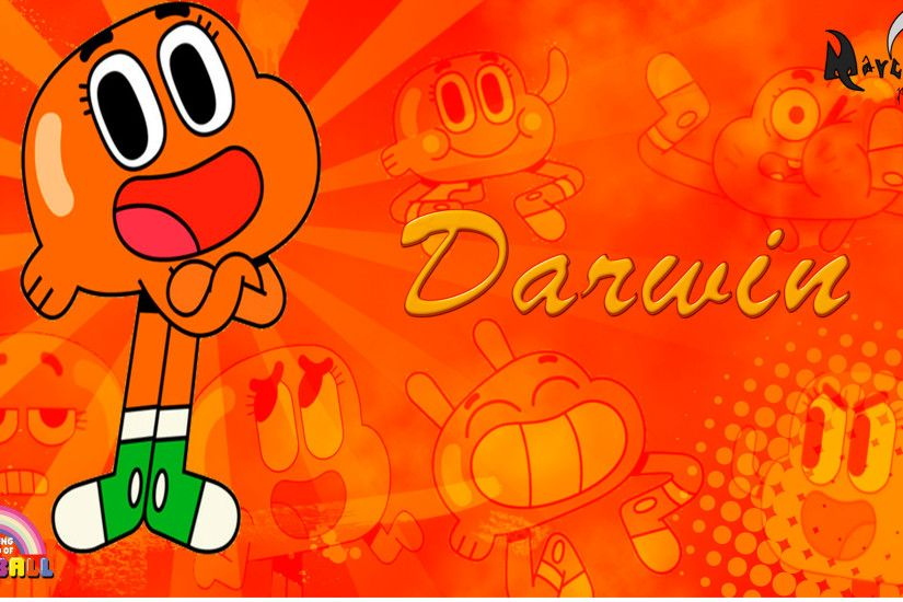 ... The Amazing World of Gumball wallpaper probably with a no parking zone  titled Darwin Watterson Gumball Darwin watterson.png ...