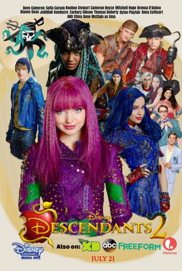 Download in Original Resolution Source · Descendants Disney Movie Wallpaper  70 images