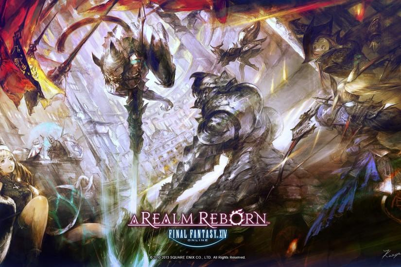 Final Fantasy XIV A Realm Reborn Wallpapers Jogos Online