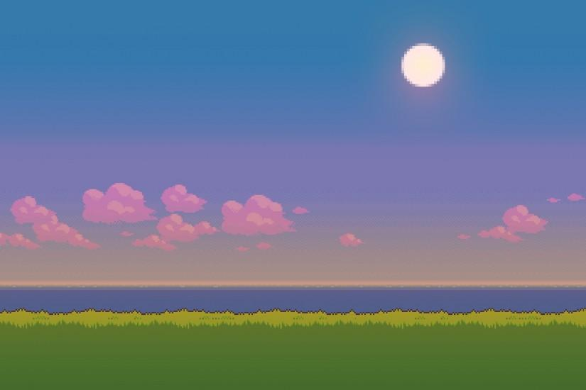 pixel art background 1920x1080 for mac