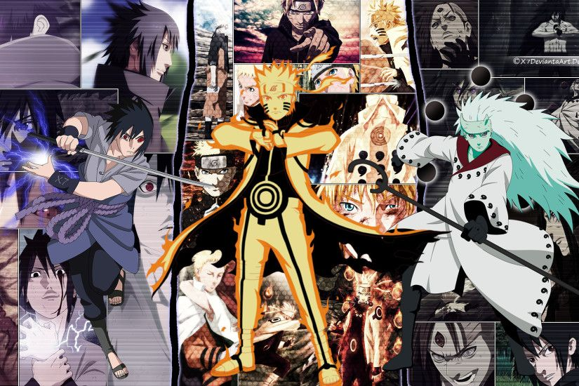 Sasuke Naruto And Madara Wallpaper ByX7deviantaArt by X7DeviantaArt Sasuke  Naruto And Madara Wallpaper ByX7deviantaArt by X7DeviantaArt
